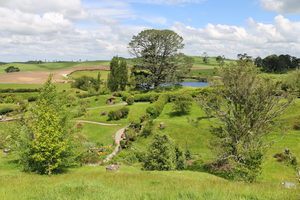 Hobbiton from the hill