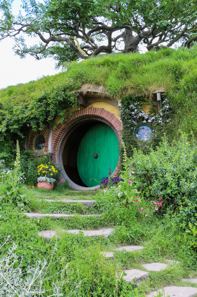 Bag end - Bilbo's and Frodo's house