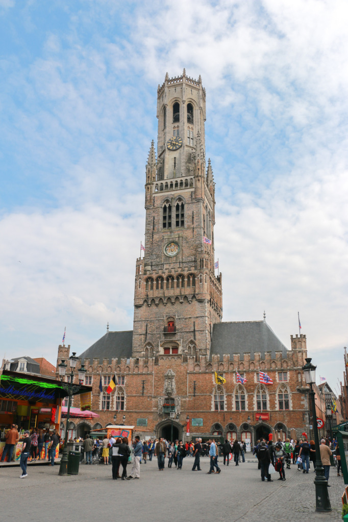 Belfort, the belfry of Bruges
