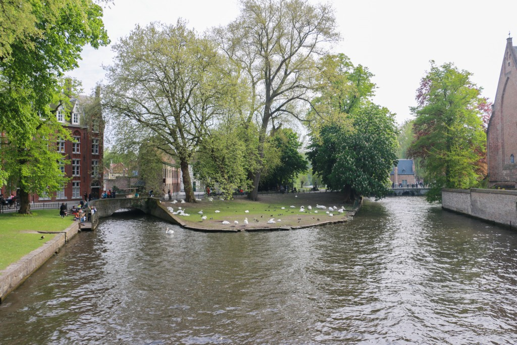 Outside of the Beguinage