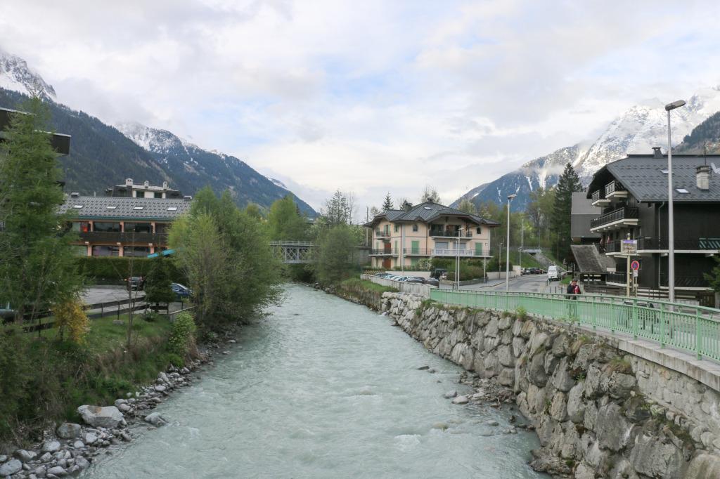 River Arve, Chamonix