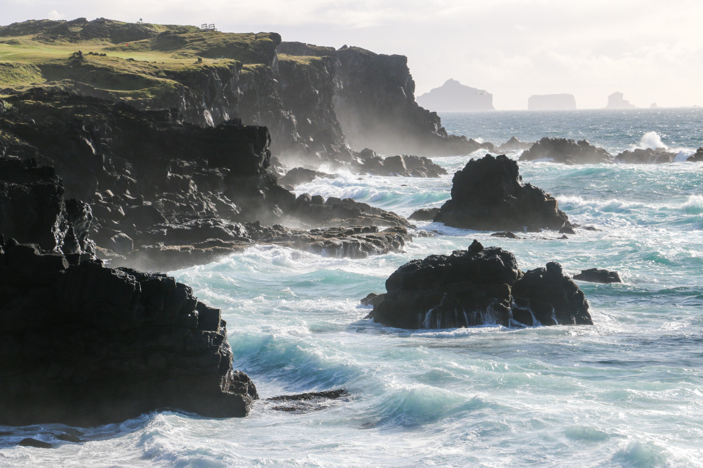 Western coastline