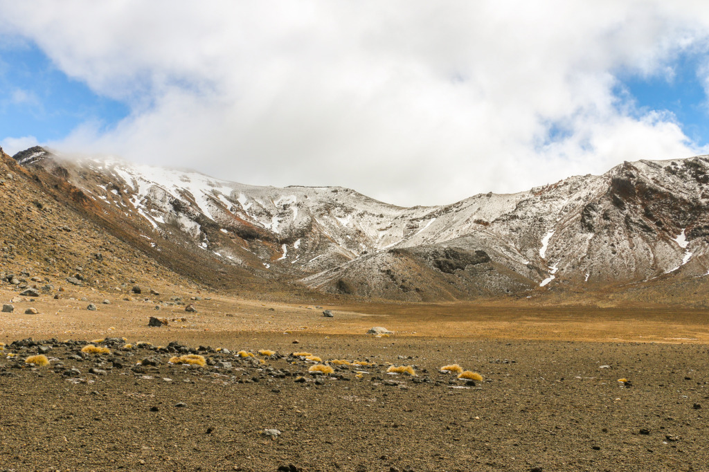 South crater