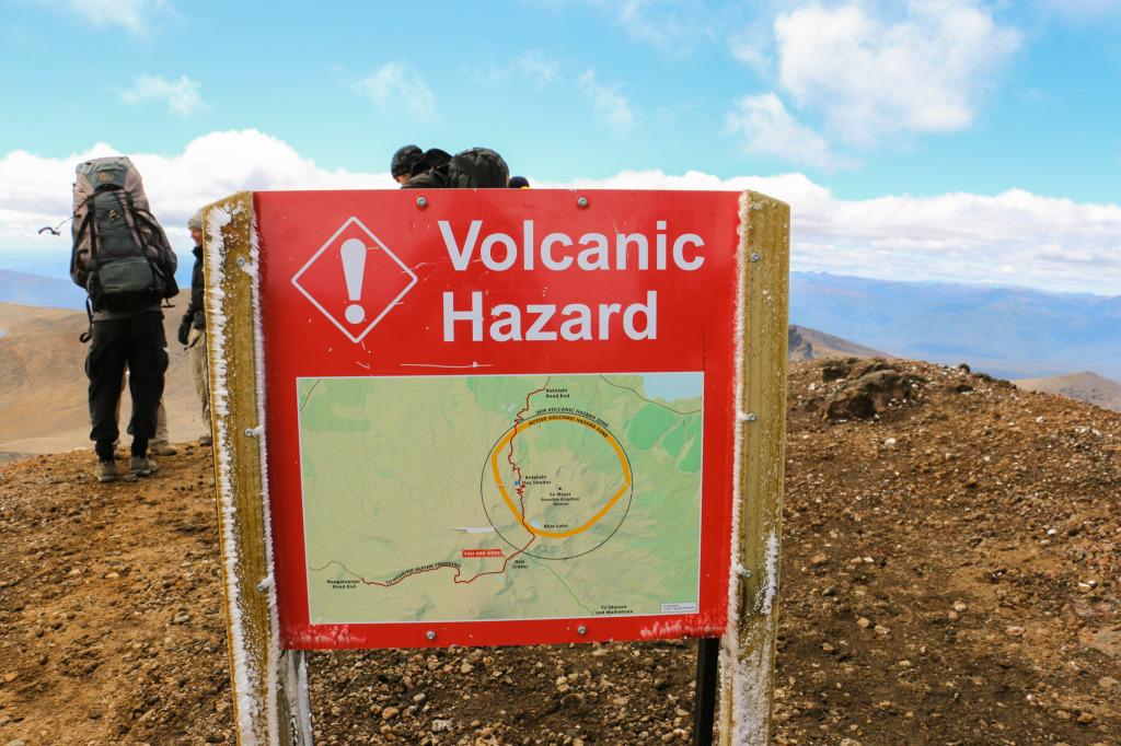 Volcanic hazard