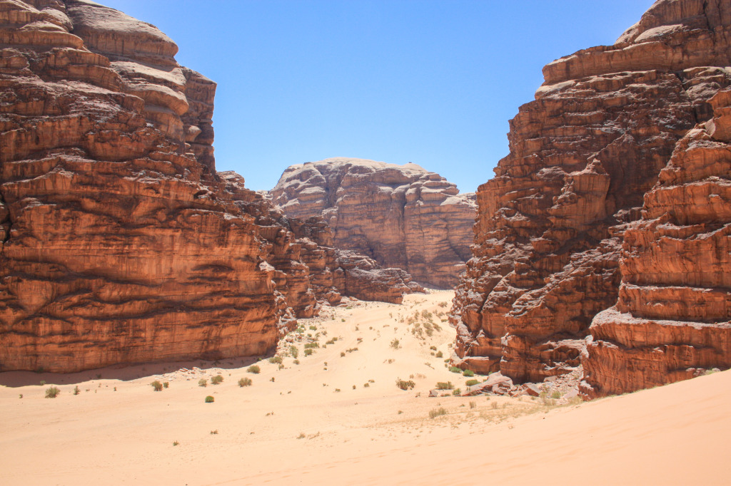 A sample of Wadi Rum