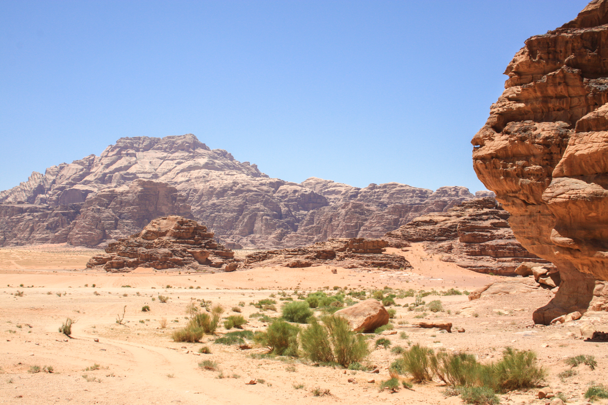 Wadi Rum, the valley of the moon - Breathe With Us