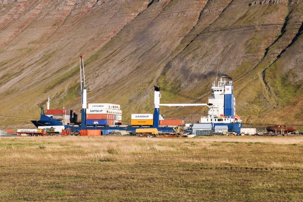 Harbour in Ísafjörður