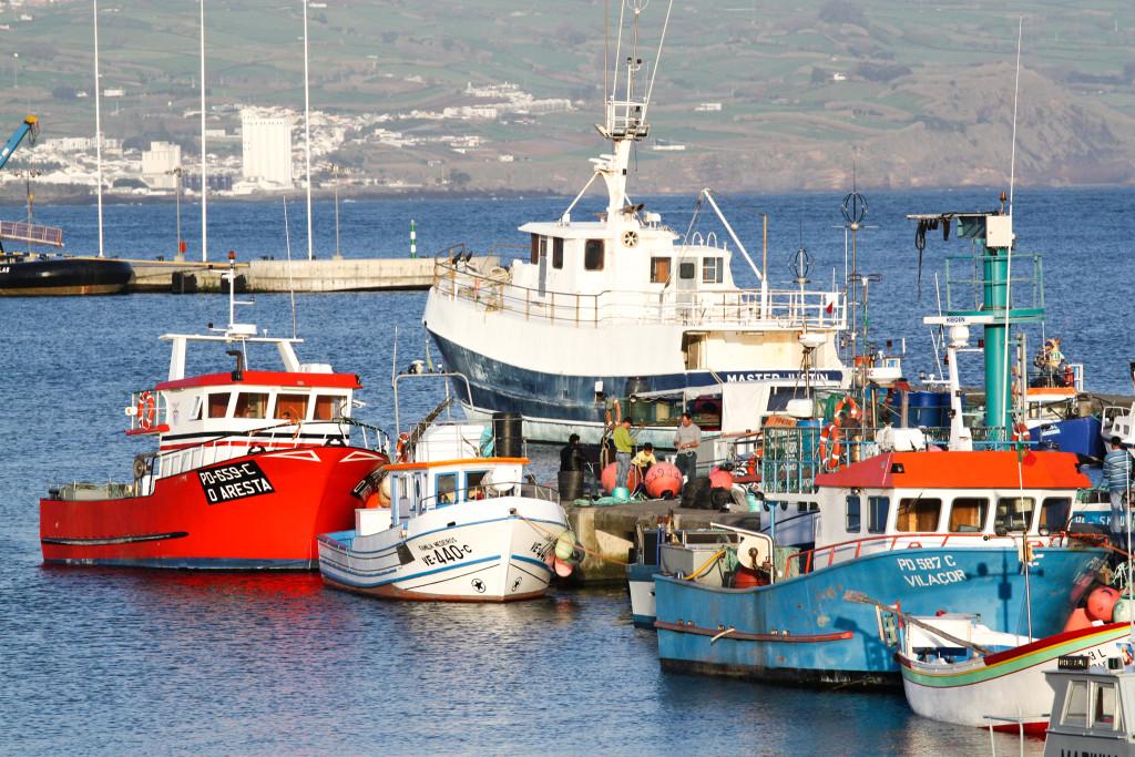 Ponta Delgada harbour