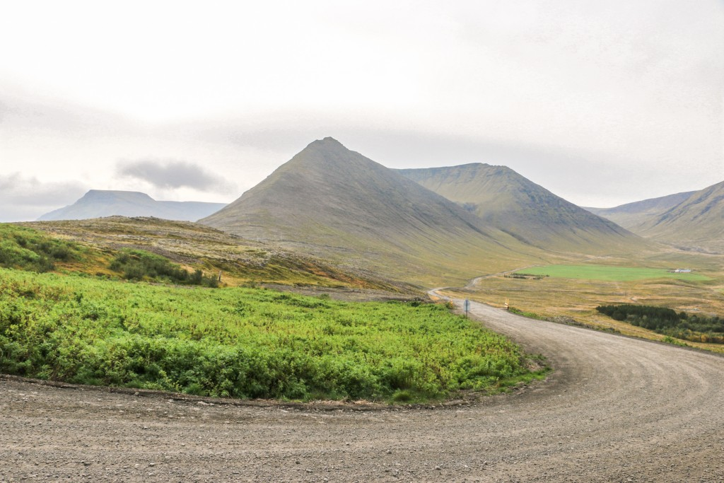 Road 60 outside Þingeyri