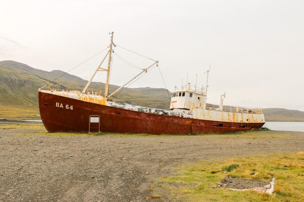 Shipwreck in Patreksfjörður