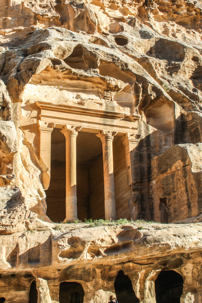 Temple in Little Petra