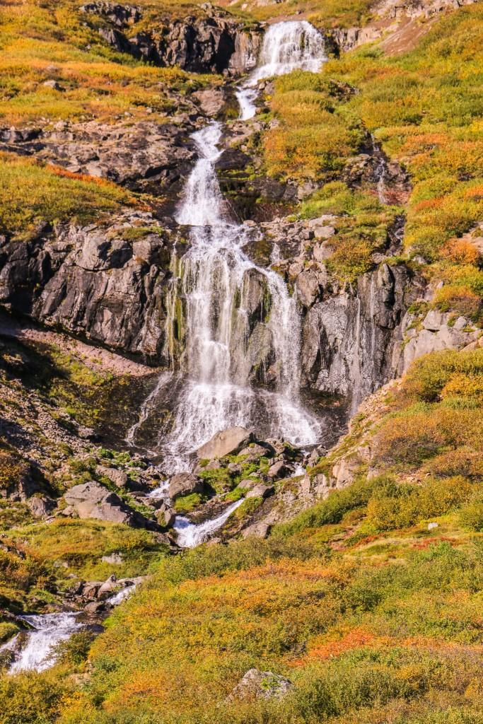 Waterfall in Ísafjörður