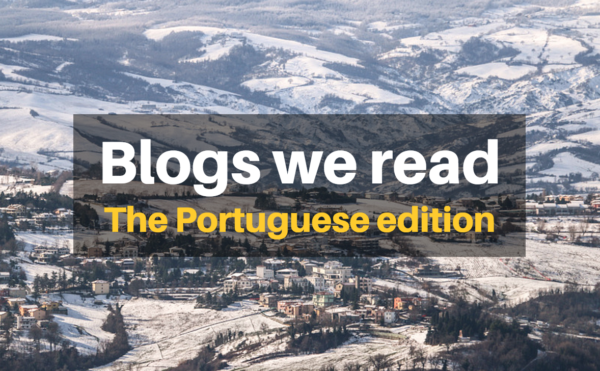 Blogs we read: The Portuguese edition