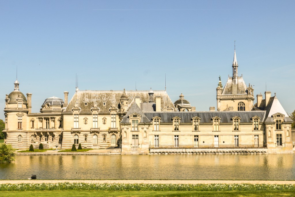 Château de Chantilly from the main road