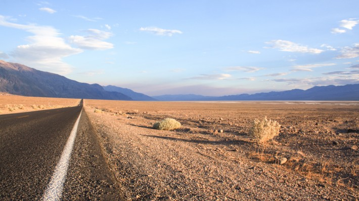 Death Valley in the Summer
