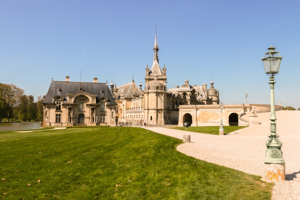 Entrance to the Château de Chantilly