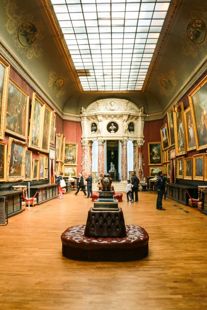 Les galeries de peintures
