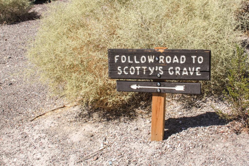 Scotty's grave