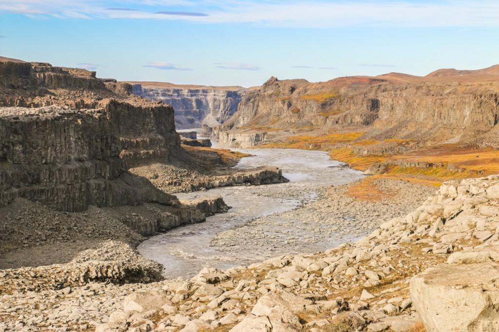 Jökulsárgljúfur canyon