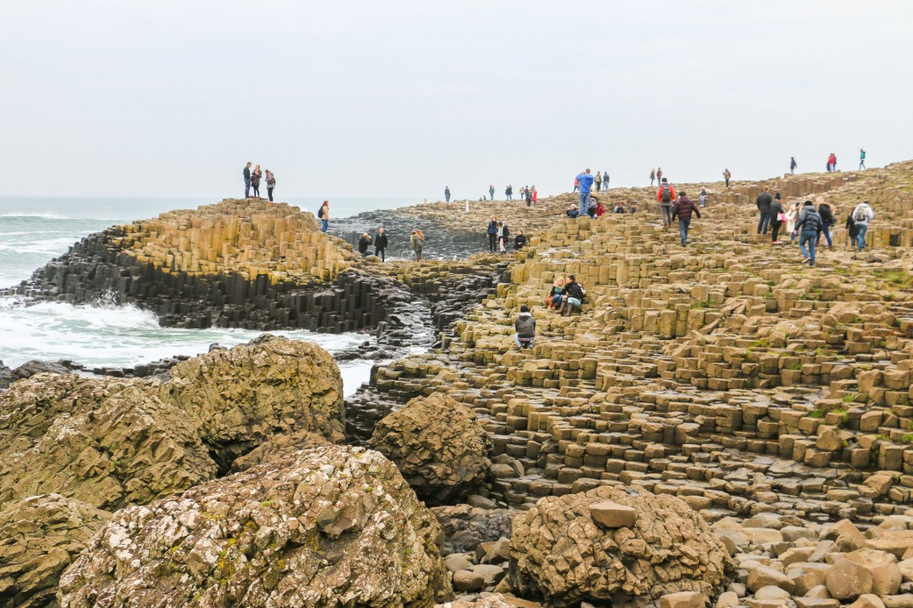 Busy Giant's Causeway