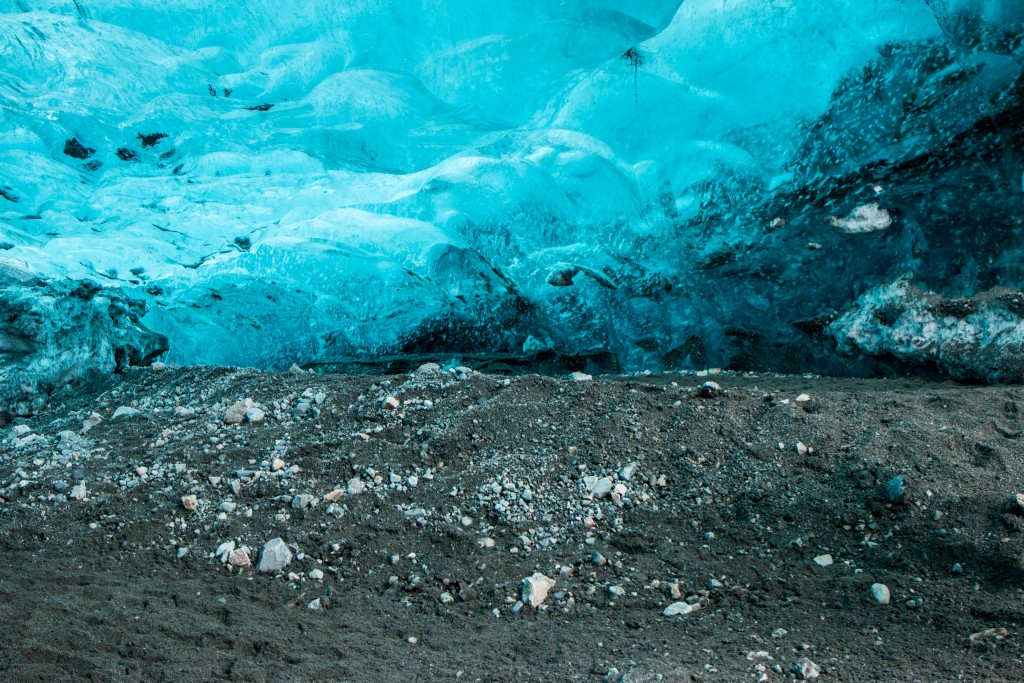 Main section of the ice cave