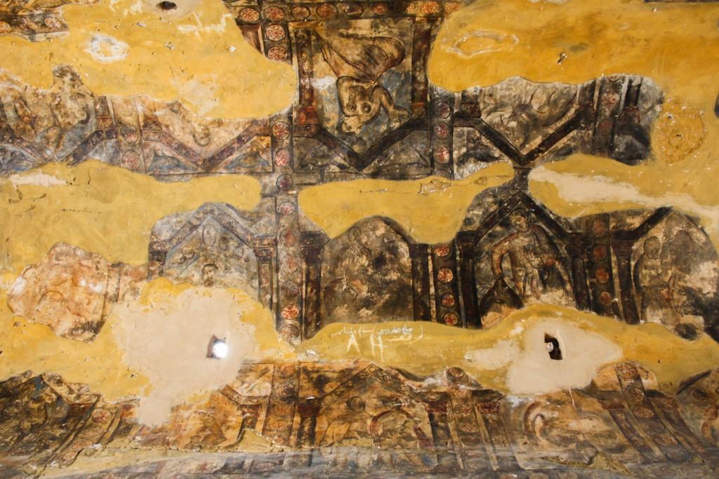 Qasr Amra's frescoes