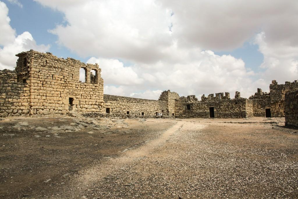 Qasr Azraq's courtyard