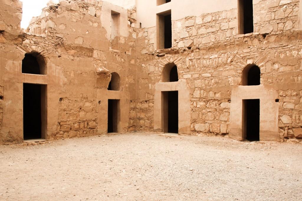 Qasr Kharana's courtyard