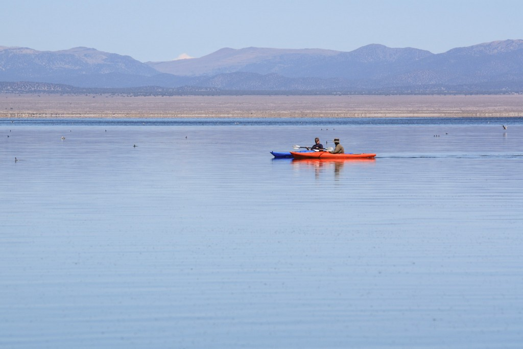 Mono Lake kayaking