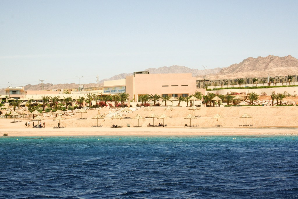 Private beach in Aqaba