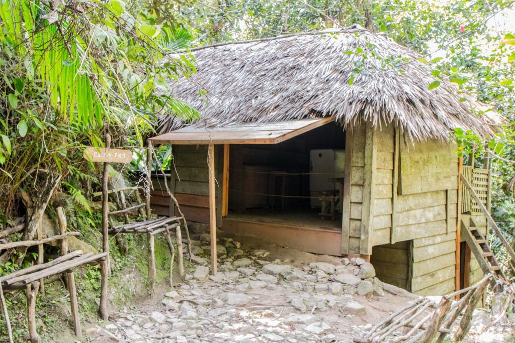 Sierra Maestra Casa de Fidel