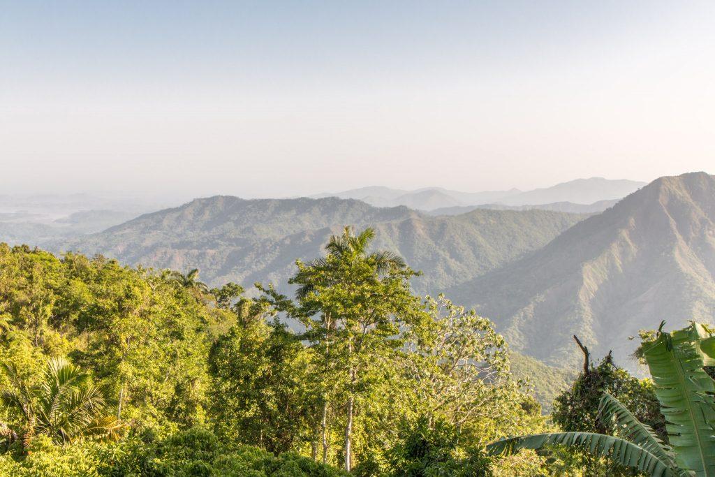 Sierra Maestra landscape