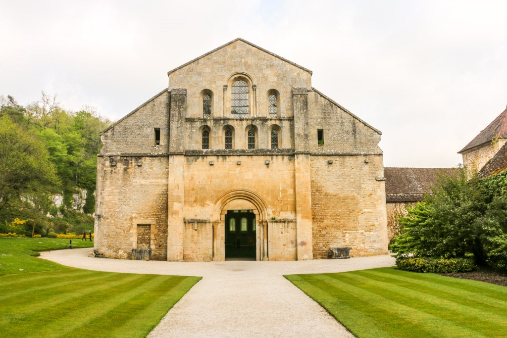 Abbey Fontenay - The Church