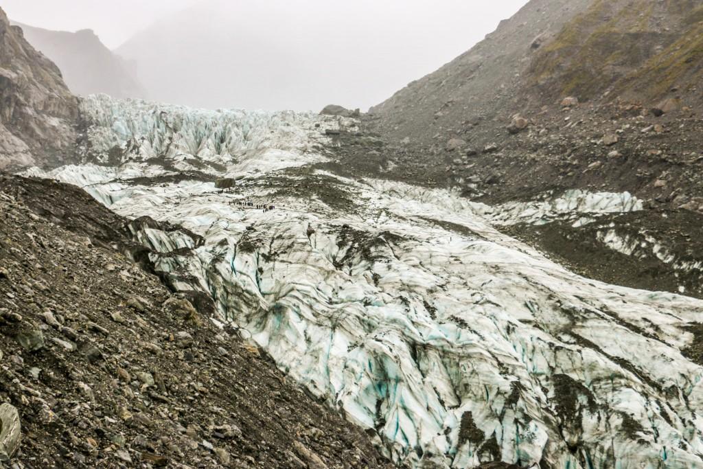 Fox glacier overview