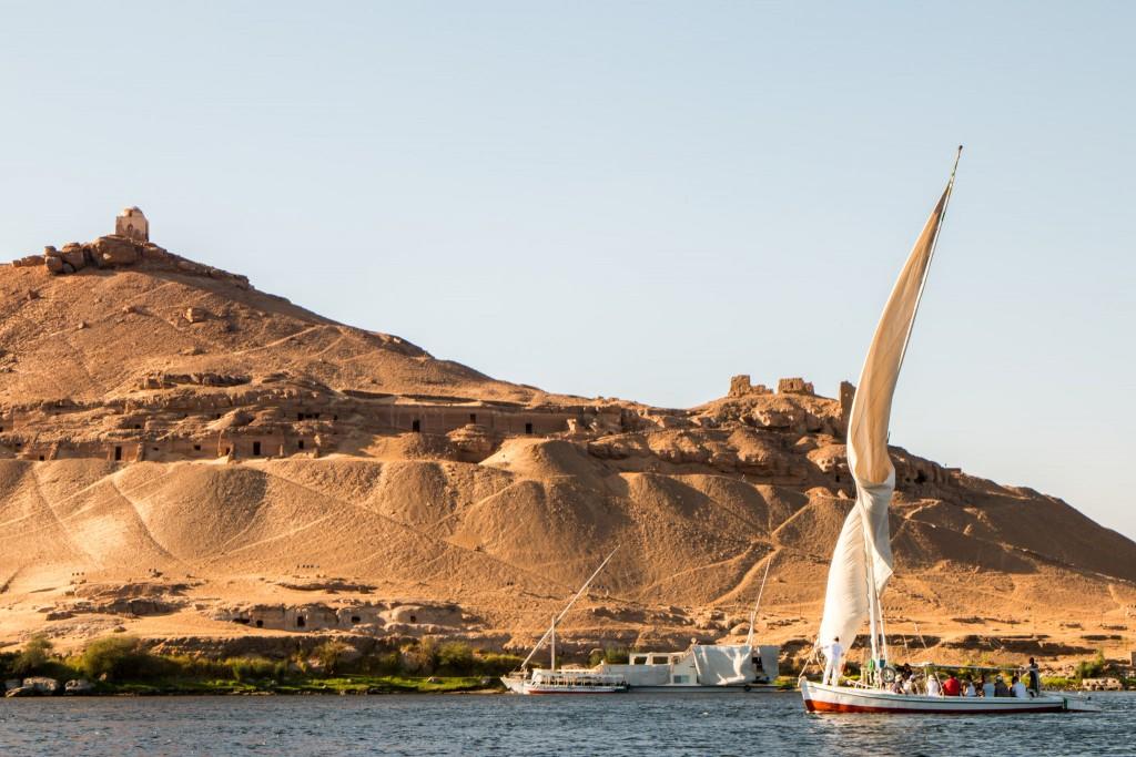Egypt Aswan Felucca