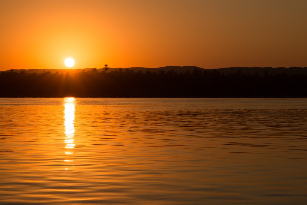 Egypt Nile Sunrise