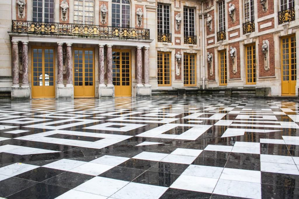 Château de Versailles - Marble court