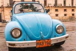 Driving in Cuba