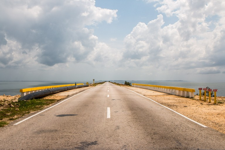 Driving in Cuba - Cayo Coco