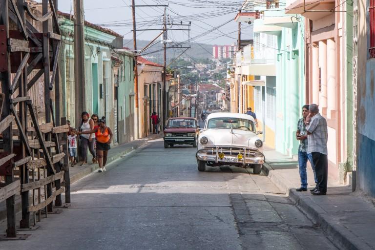 Driving in Cuba - Santiago