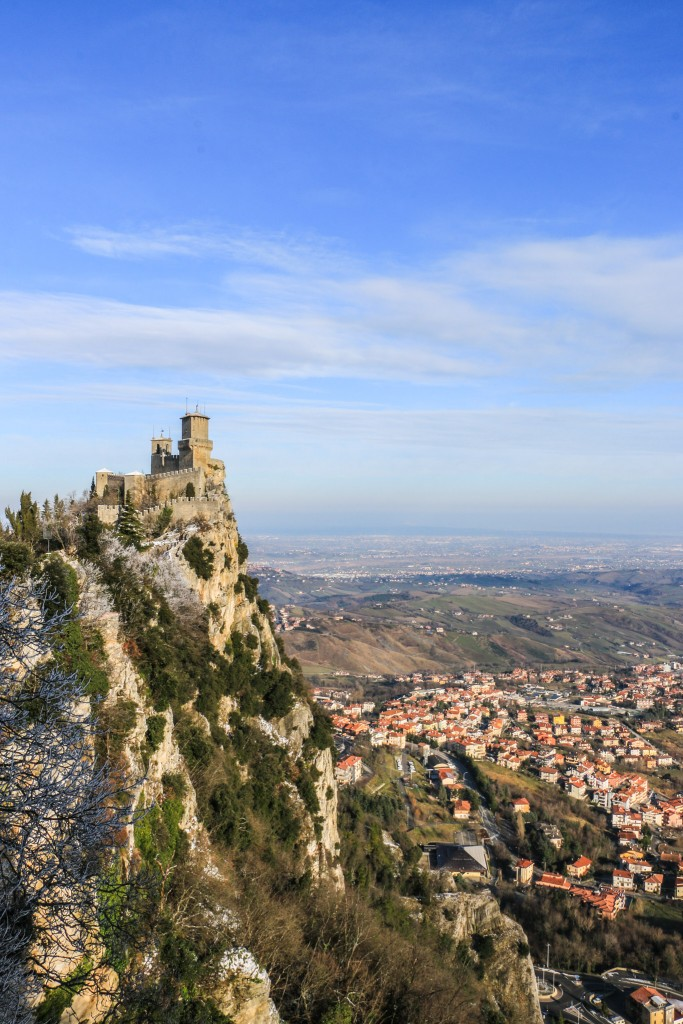 Guaita Tower and San Marino