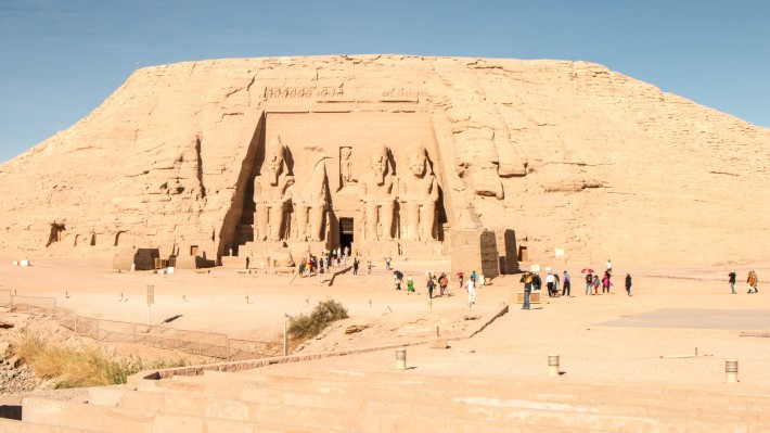 Abu Simbel Ramesses II Temple Panorama