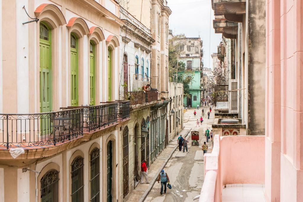 Casas Particulares Room View Havana