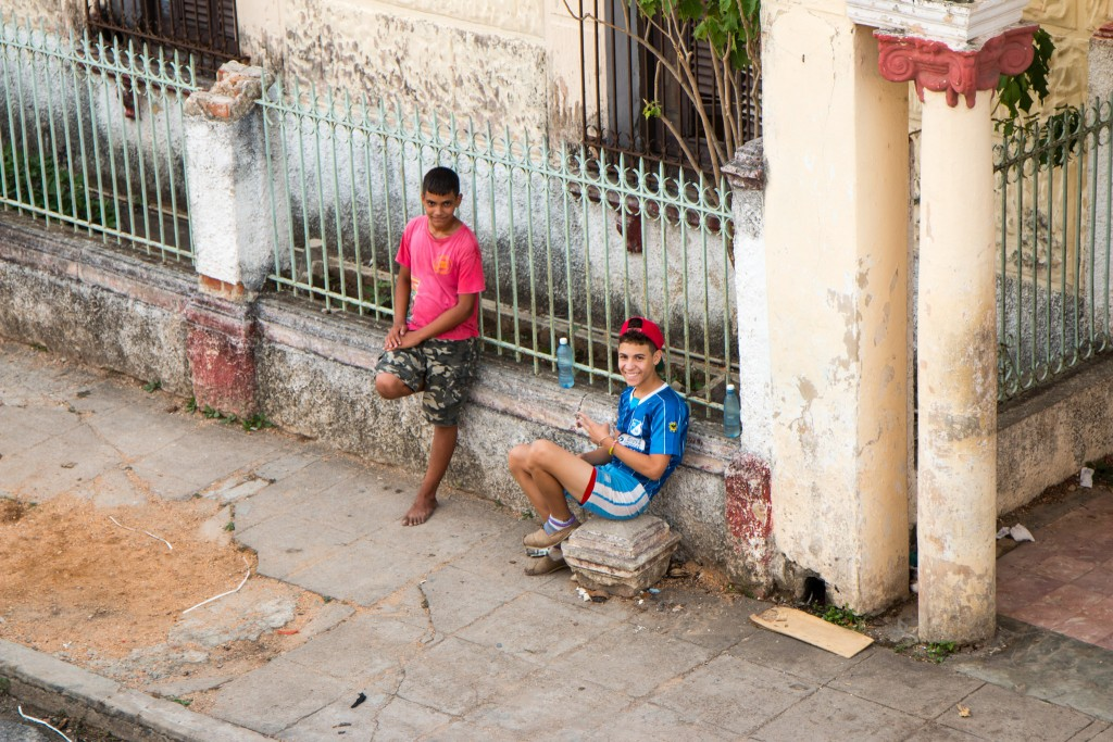 Locals Pinar del Río