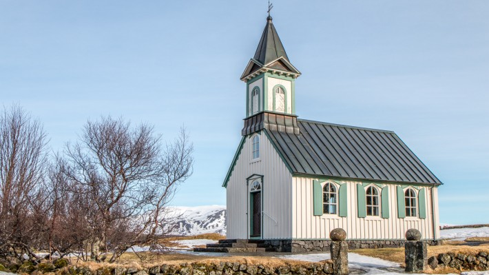 The Churches of Iceland - Þingvallakirkja