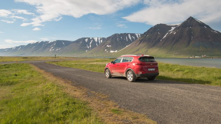 All about driving in Iceland