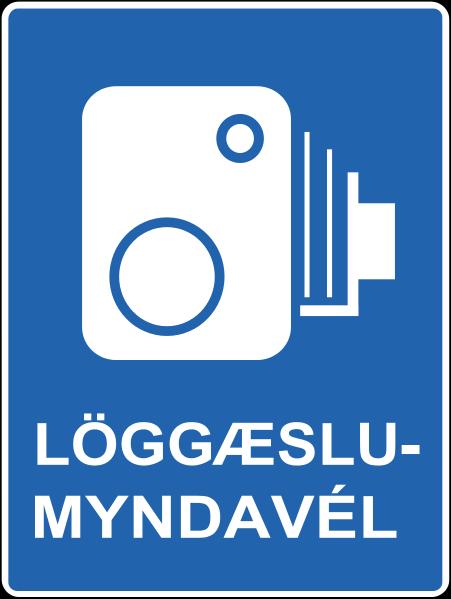 Icelandic traffic signs - Radar